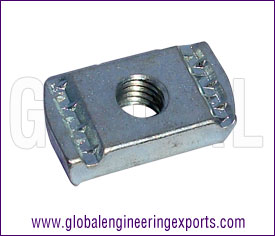 Channel Nut Plain manufacturers exporters suppliers in india punjab ludhiana