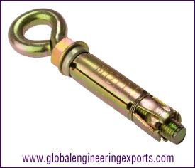 Eye Bolt anchor fasteners manufacturers exporters suppliers in india