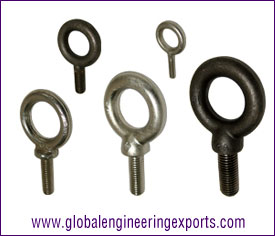 Forged Machinery Eye Bolts / welded eye bolts manufacturers exporters suppliers in india punjab ludhiana