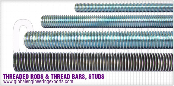 threaded rods manufacturers exporters distributors suppliers in india punjab ludhiana